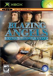 Box cover for Blazing Angels: Squadrons of WWII on the Microsoft Xbox.