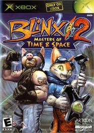 Box cover for Blinx 2: Masters of Time and Space on the Microsoft Xbox.