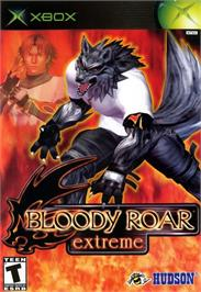 Box cover for Bloody Roar Extreme on the Microsoft Xbox.