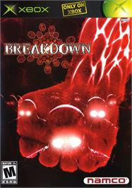 Box cover for Break Down on the Microsoft Xbox.