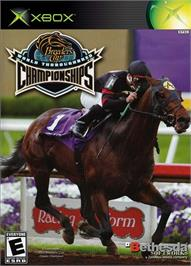 Box cover for Breeders' Cup World Thoroughbred Championships on the Microsoft Xbox.