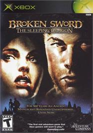 Box cover for Broken Sword: The Sleeping Dragon on the Microsoft Xbox.