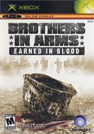 Box cover for Brothers in Arms: Earned in Blood on the Microsoft Xbox.