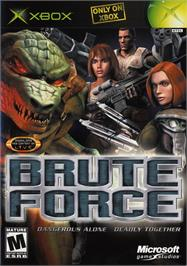 Box cover for Brute Force on the Microsoft Xbox.