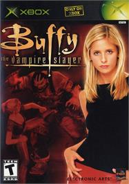 Box cover for Buffy the Vampire Slayer on the Microsoft Xbox.