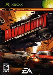 Box cover for Burnout Revenge on the Microsoft Xbox.