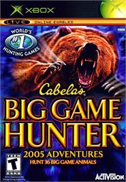 Box cover for Cabela's Big Game Hunter 2005 Adventures on the Microsoft Xbox.