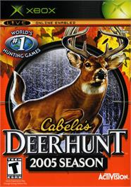 Box cover for Cabela's Deer Hunt: 2005 Season on the Microsoft Xbox.