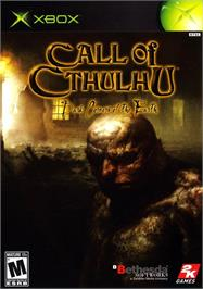 Box cover for Call of Cthulhu: Dark Corners of the Earth on the Microsoft Xbox.
