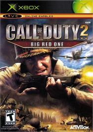 Box cover for Call of Duty 2: Big Red One on the Microsoft Xbox.