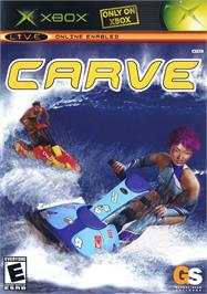 Box cover for Carve on the Microsoft Xbox.