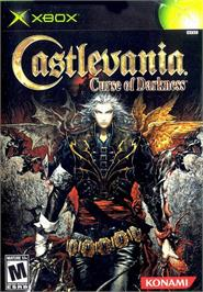 Box cover for Castlevania: Curse of Darkness on the Microsoft Xbox.