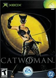 Box cover for Catwoman on the Microsoft Xbox.