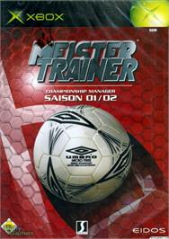 Box cover for Championship Manager: Season 01/02 on the Microsoft Xbox.