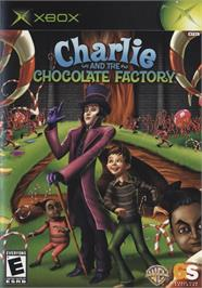 Box cover for Charlie and the Chocolate Factory on the Microsoft Xbox.