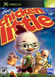 Box cover for Chicken Little on the Microsoft Xbox.