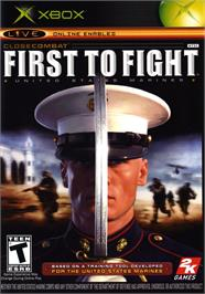 Box cover for Close Combat: First to Fight on the Microsoft Xbox.
