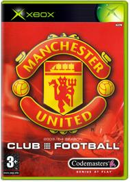 Box cover for Club Football on the Microsoft Xbox.