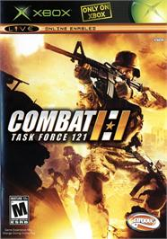 Box cover for Combat: Task Force 121 on the Microsoft Xbox.