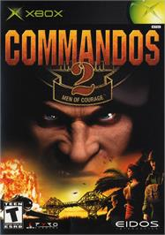 Box cover for Commandos 2: Men of Courage on the Microsoft Xbox.