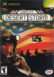 Box cover for Conflict: Desert Storm on the Microsoft Xbox.