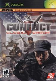 Box cover for Conflict: Global Terror on the Microsoft Xbox.