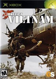Box cover for Conflict: Vietnam on the Microsoft Xbox.