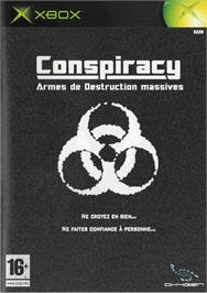 Box cover for Conspiracy: Weapons of Mass Destruction on the Microsoft Xbox.