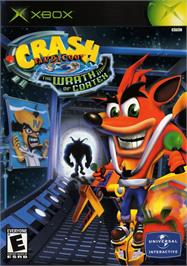 Box cover for Crash Bandicoot: The Wrath of Cortex on the Microsoft Xbox.