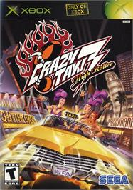 Box cover for Crazy Taxi 3: High Roller on the Microsoft Xbox.