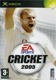 Box cover for Cricket 2005 on the Microsoft Xbox.