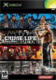 Box cover for Crime Life: Gang Wars on the Microsoft Xbox.
