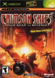 Box cover for Crimson Skies: High Road to Revenge on the Microsoft Xbox.