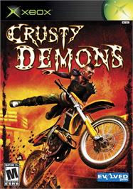 Box cover for Crusty Demons on the Microsoft Xbox.