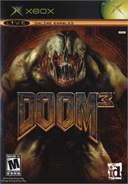 Box cover for DOOM³ (Limited Collector's Edition) on the Microsoft Xbox.