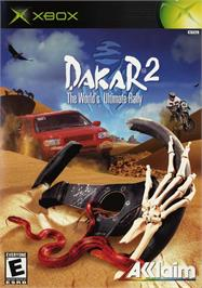Box cover for Dakar 2: The World's Ultimate Rally on the Microsoft Xbox.