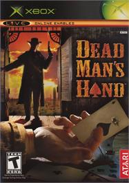 Box cover for Dead Man's Hand on the Microsoft Xbox.