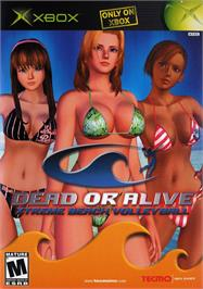 Box cover for Dead or Alive: Xtreme Beach Volleyball on the Microsoft Xbox.