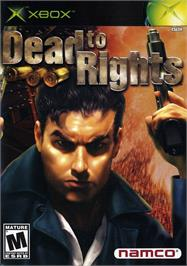 Box cover for Dead to Rights on the Microsoft Xbox.