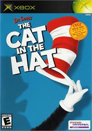 Box cover for Dr. Seuss' The Cat in the Hat on the Microsoft Xbox.