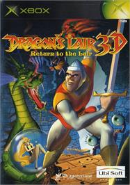 Box cover for Dragon's Lair 3D: Return to the Lair on the Microsoft Xbox.