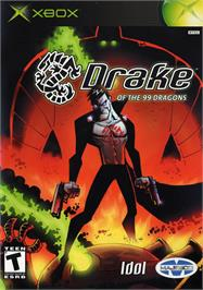 Box cover for Drake of the 99 Dragons on the Microsoft Xbox.