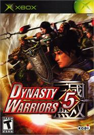 Box cover for Dynasty Warriors 5 on the Microsoft Xbox.