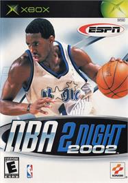 Box cover for ESPN NBA 2Night 2002 on the Microsoft Xbox.