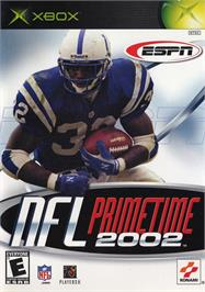 Box cover for ESPN NFL Primetime 2002 on the Microsoft Xbox.