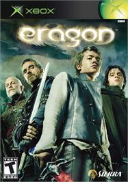 Box cover for Eragon on the Microsoft Xbox.