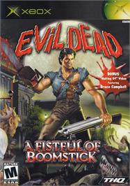 Box cover for Evil Dead: A Fistful of Boomstick on the Microsoft Xbox.