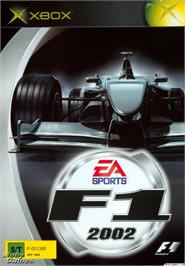 Box cover for F1 2002 on the Microsoft Xbox.