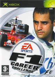 Box cover for F1 Career Challenge on the Microsoft Xbox.