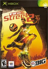 Box cover for FIFA Street 2 on the Microsoft Xbox.